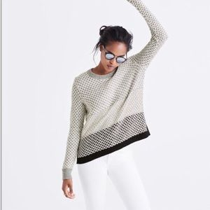 Madewell Sweaters - Madewell Geo-Block Pull-Over Sweater